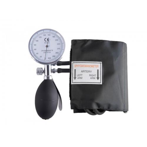 Esfigmomanómetro de doble tubo Aneroide con Funda Negro Plateado