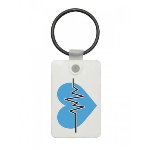 Llavero USB ECG Azul