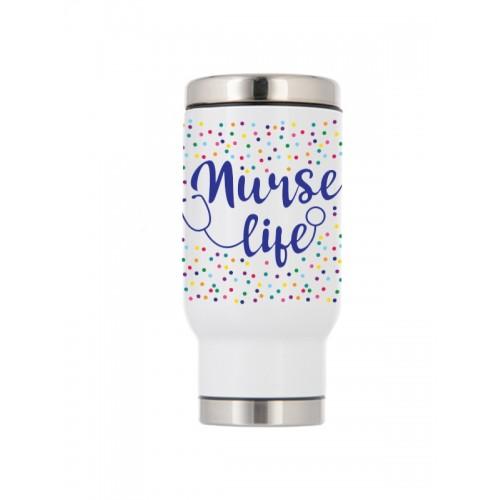 Taza Térmica de Viaje Nurse Life
