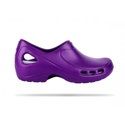 Zuecos Wock Everlite 06 Púrpura