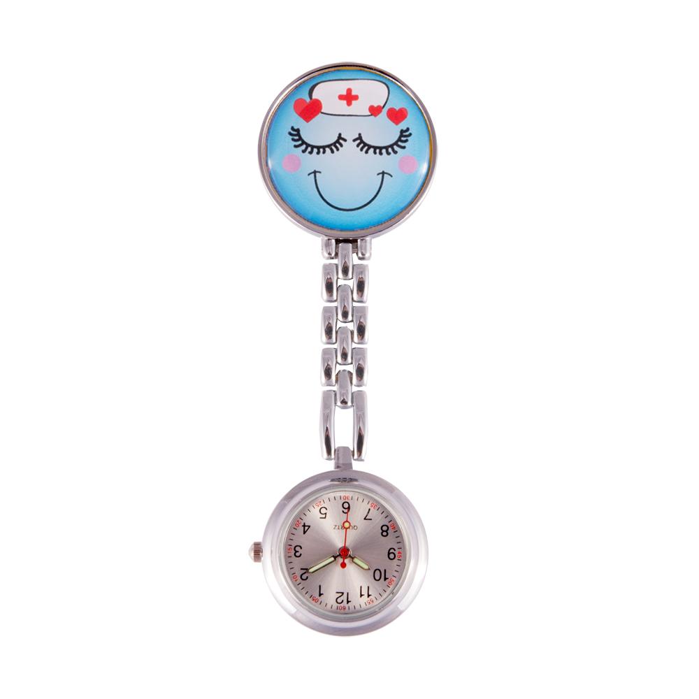 Reloj metálico para enfermeras